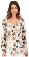 Spring Fashion Under $200 Lucky Brand long sleeve floral top