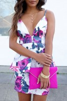 Spring Colors Brighten Looks, floral print dress