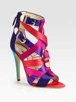 Spring's Top 5 Stylish Shoes, rainbow color brian atwood sandal