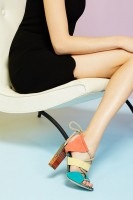 Spring's Top 5 Stylish Shoes, rainbow color high heels