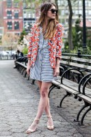 Inspiring Ways to Wear Spring Prints, spring prints stripes and floral