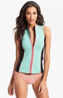 Sporty Chic Spring Sportswear, paddleboarding outfit DVF for Roxy