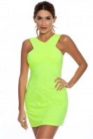 Sporty Chic Spring Sportswear, neon tennis dress
