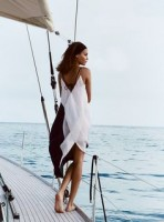 Sporty Chic Spring Sportswear, women's sailing white dress
