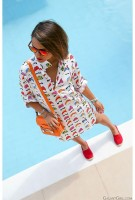 Espadrilles Summer 2016 Shoe, white print shift red and red canvas espadrilles