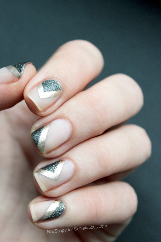 Fall/Winter 2016 nail polish trends, negative space