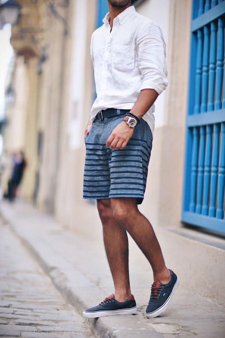 Men Striped Shirt Fashion Ideas