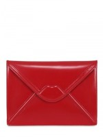 all red lips clutch