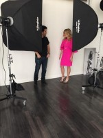 Divine Style fashion shoot with Moshe Zusman, spring fashion shoot