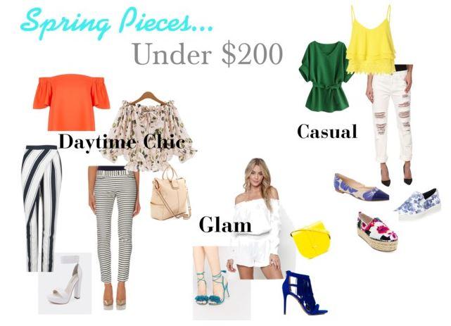 Spring Pieces Under $200