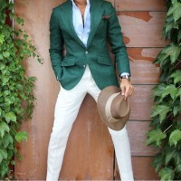 Spring's Freshest Fashion Gear For Men, men's green spring blazer