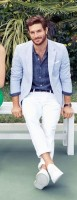 Spring's Freshest Fashion Gear For Men, men's spring white jeans blazer