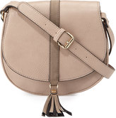 Spring Fashion Under $200 neiman marcus tassel saddle bag