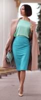 de-winterize your closet for spring. spring color outfit