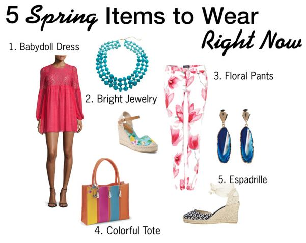 5 Spring Items to Wear Right Now