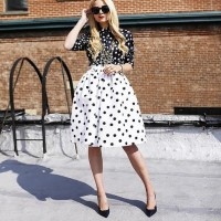Inspiring Ways to Wear Spring Prints, Blair Eadie print on print