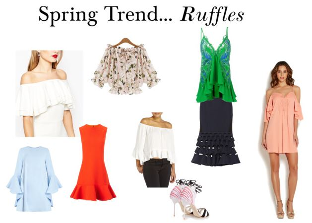 Spring Trend Ruffles, ruffle clothing