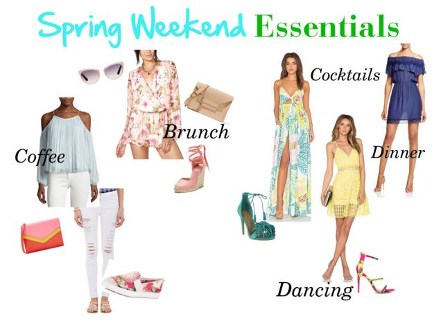 Spring Weekend Essentials