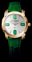 dolce & gabbana green watch