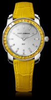 dolce & gabbana yellow watch