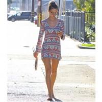 festival style tshirt print dress, Coachella oufit