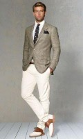 Men's Outfits Kentucky Derby Gold Cup, men's neutrals