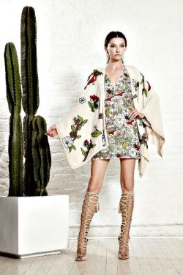 spring accessories, Alice + Olivia spring kimono