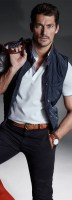 Stylish Yet Sporty Men's Fashion, david gandy vest and polo shirt