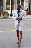 men's dress suit with shorts 200
