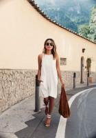 Espadrilles Summer 2016 Shoe, white dress with camel color ankle tie espadrilles