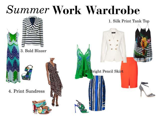 summer work wardrobe, what to wear to work