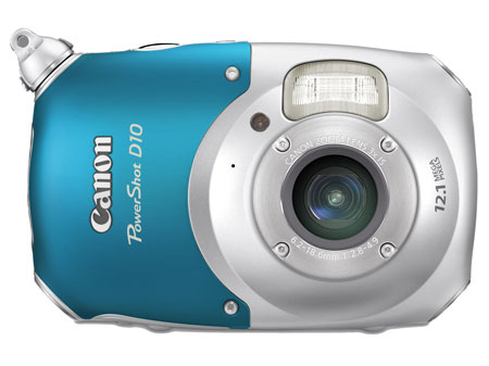 Beach bag essentials, Canon underwater camera