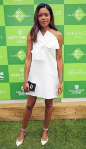 What To Wear to a Summer Soiree, Garden party outfit, white bow sundress