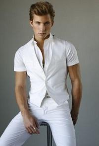 diner en blanc, men's white outfit