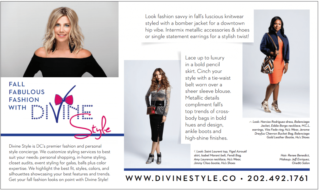 DC Modern Luxury September 2016, Divine Style fall fashion, fashion editorial, Divine Style