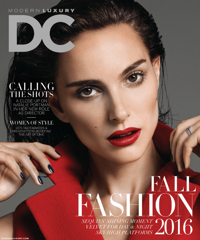 DC Modern Luxury Fall Fashion Cover September 2016