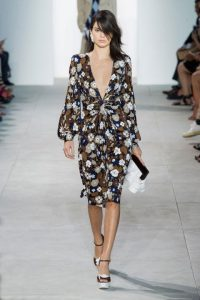 NYFW Spring Summer 2017 trends florals by Michael Kors