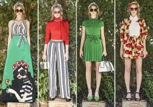 NYFW Spring Summer 2017 trends stripes by Alive and Olivia