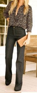 tall women's flare jeans