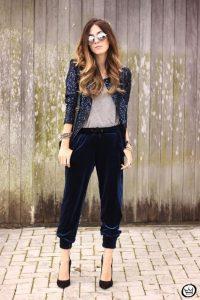 Fall Essentials, Velvet, sequin blazer, velvet pants