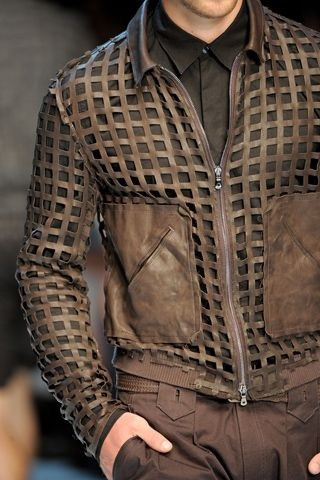 – Men's Fall Jacket Trends, Dolce and Gabbana men's woven bomber jacket