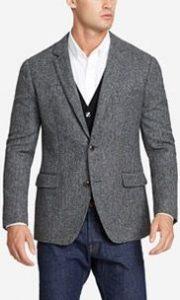 men's business casual, men's marled blazer