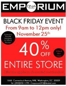 Emporium DNA Black Friday Sales
