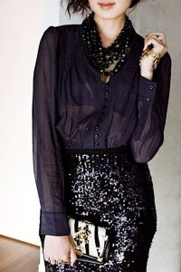 Glitz and Glam holiday outfit
