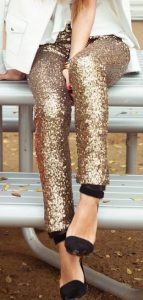 Glitz and Glam holiday accessories, holiday shoes and purses