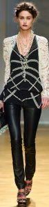 How to Wear Leather Pants, leather pants at formal event