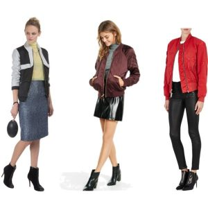 Women's Bomber Jackets...Sporty to Night on the Town