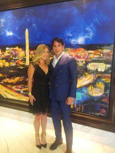 Designer Rene Ruiz with personal stylist Kelley Kirchberg of Divine Style