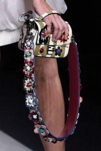 Accessory Trends 2017 Miu Miu embellished guitar strap handbag
