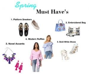 Spring's Must Have Pieces